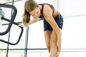 pain after exercise not during exercise