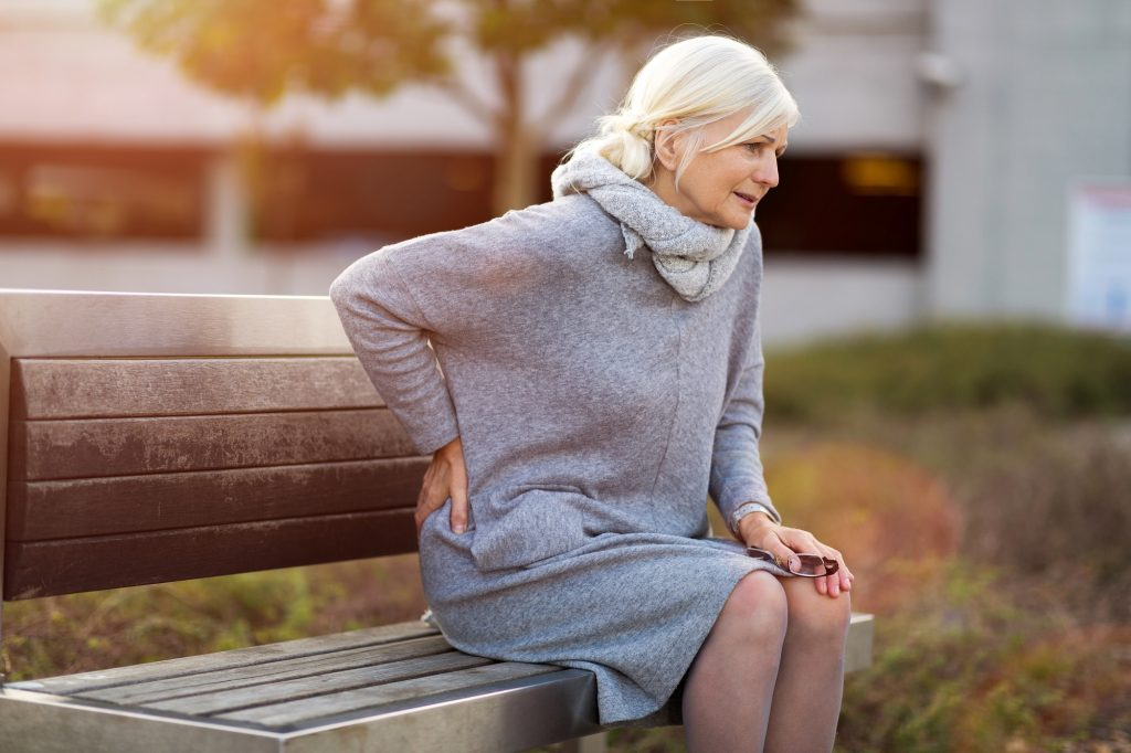 living with arthritis in back
